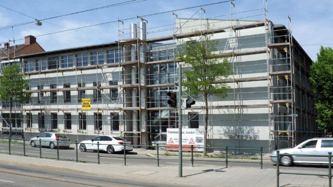 Baufortschritt - Mai 2018