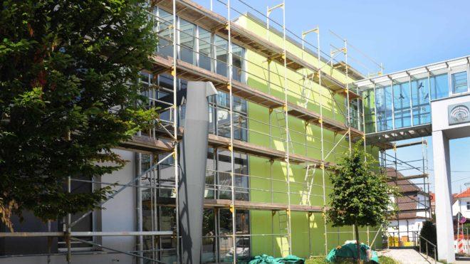 Baufortschritt Ende Juni 2018