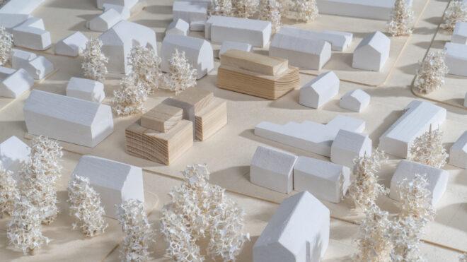Modellbau für die UNIKLINIK APARTMENTS.Markgrafenstraße 67